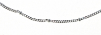 A41 Sterling silver chain anklet