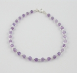 A7 Amethyst anklet