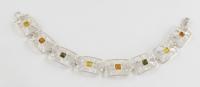 AB1 Silver Baltic Amber Bracelet