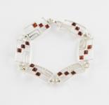 AB5 Silver Baltic Amber Bracelet