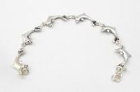 B21 Large dolphin bracelet