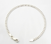 B33 flat linked bracelet