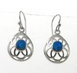 BFOE2O Oval cut out earrings
