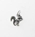 CM47 Silver Squirrel Charm