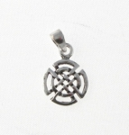 CM49 Silver Celtic Design Charm