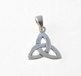 CM59 Silver celtic triangle