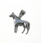 CM70 Standing Horse Charm