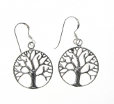 E110 Tree of life earrings
