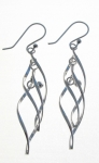 E126 Twirly earrings