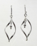 E133a Swirl Earrings