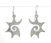 E137 Swirl Earrings
