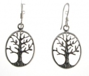 E149 Tree of life earrings