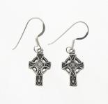 E164 Silver celtic cross