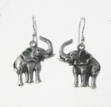 E192 Elephant Earrings