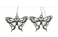 E2 Large butterfly earrings