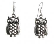E21 Owl Earrings