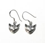 E24 Cat head earrings
