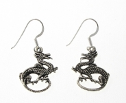 E25 Dragon earrings