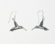 E43 Humming bird earrings