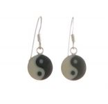 E45a Yin yang earrings