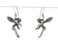 E5 Silver tinkerbell earrings
