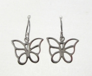 E63 Cut out butterfly earrings