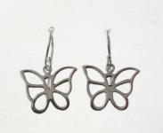 E63 Cut out butterfly earrings