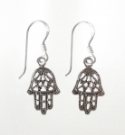 E80 Hand of fatima earrings