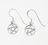 E86a Pentagram earrings