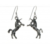 E8a Unicorn earrings