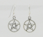 E92 Pentacle earrings