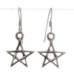 E92a Pentacle earrings