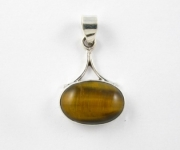 GP1 Silver tigers eye pendant