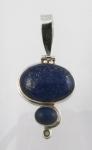 GP16 Silver Lapis lazuli pendant