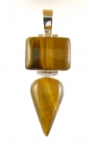 GP22 Silver tigers eye pendant