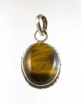 GP29s silver tigers eye pendant