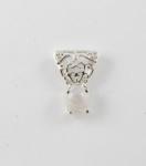 GP5 Silver gemstone filigree pendant