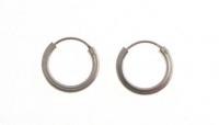 H52 Silver hoops