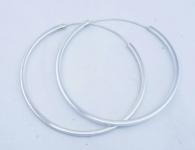 H56 Silver hoops