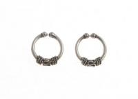 H61 Balinese hoop ear cuff