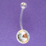 M.B.B. Maternity belly bars plastic 1.6 x 18mm
