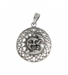P111 Sun And Moon pendant