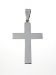 P15 Silver Cross Pendent