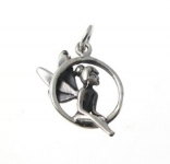 P232a Silver tinkerbell pendant