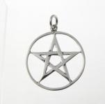 P309 Large pentagram pendant