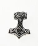 P311 Silver celtic thors hammer pendant