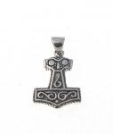 P315 Silver thors hammer pendant