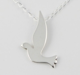 P36 Silver Dove Necklace