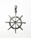 P360 Ship Wheel Pendent