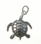 P377 Moving Turtle Pendant